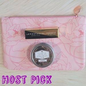 HP 🎊 Eyebrow Gel, Shea Butter, Makeup Bag Bundle